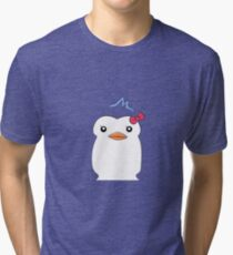 Penguin 3 Tri-blend T-Shirt
