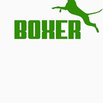 Boxer (green) by orono