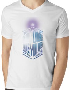 Wibbly Wobbly Timey Wimey Mens V-Neck T-Shirt