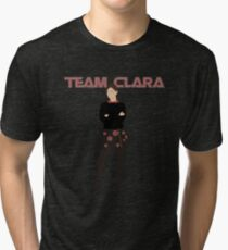 """Team Clara"" Clara Oswald T-Shirt Tri-blend T-Shirt"