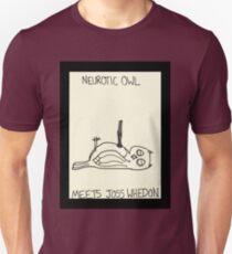 Neurotic Owl Meets Joss Whedon T-Shirt