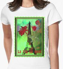 la vie en rose Women's Fitted T-Shirt