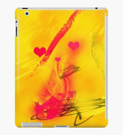 Catching the red wave iPad Case/Skin