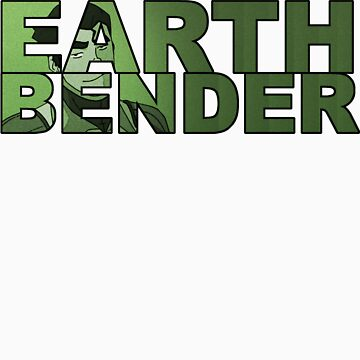 Earthbender Font with Bolin by Eudaemons