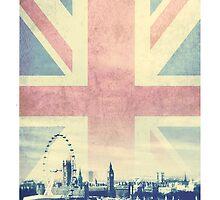 Sherlock London Union Jack by indieyouth