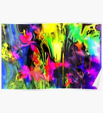 IMAGINATION OF AN ABSTRACT ARTIST Poster