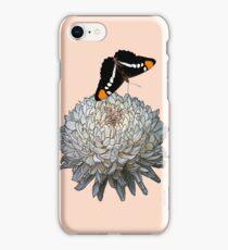 Queen Butterfly - Peach iPhone Case/Skin