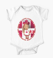 ✾◕‿◕✾ CANADIAN PATRIOTIC  GIRLS CHILDRENS TEE SHIRT ✾◕‿◕✾ Kids Clothes