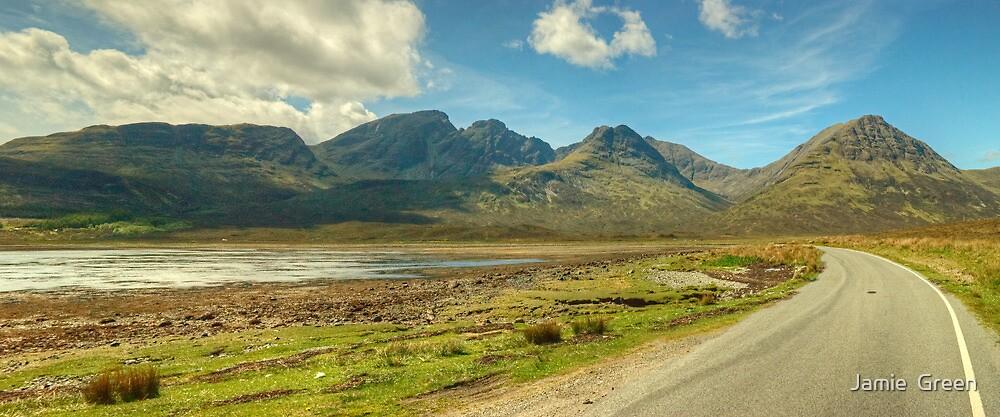 Bla Bheinn, Isle of Skye by Jamie  Green