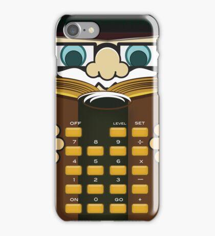Little Professor Calculator iPhone Case
