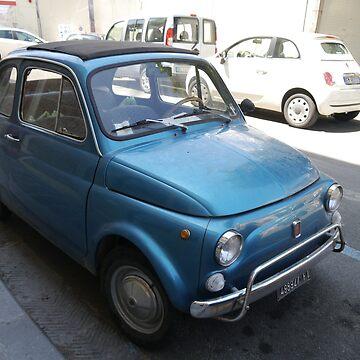 Fiat 500(s) in Italy by shutterhappy