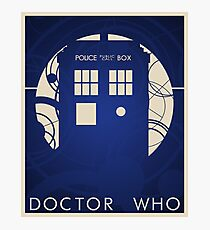 Doctor Who Poster Photographic Print