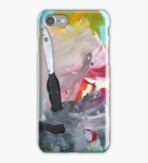 WHILE MY BRUSH GENTLY WEEPS iPhone Case/Skin