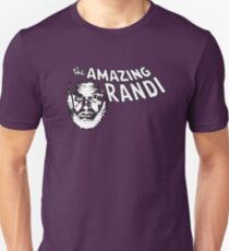the Amazing Randi by Tai's Tees T-Shirt