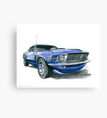 70 Boss Canvas Print