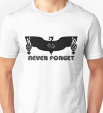 LFC 96 Never Forget - Black Unisex T-Shirt