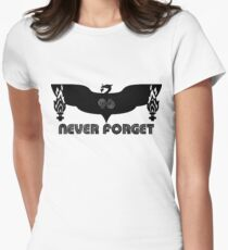 LFC 96 Never Forget - Black Womens Fitted T-Shirt