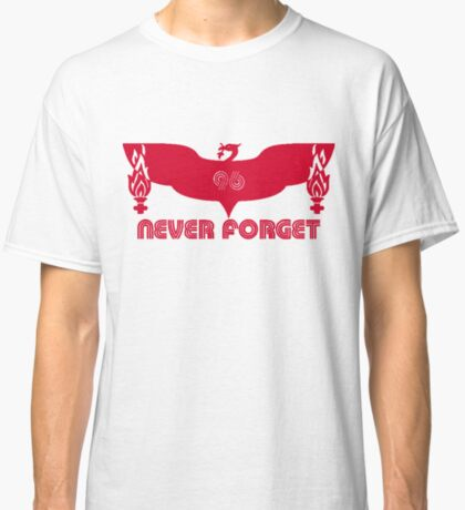 LFC 96 Never Forget - Red Classic T-Shirt
