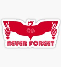 LFC 96 Never Forget - Red Sticker