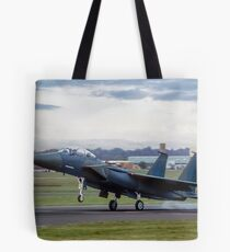TF-15A 71-0291, the first Strike Eagle Tote Bag