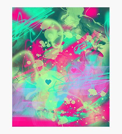 Dispersed love Photographic Print