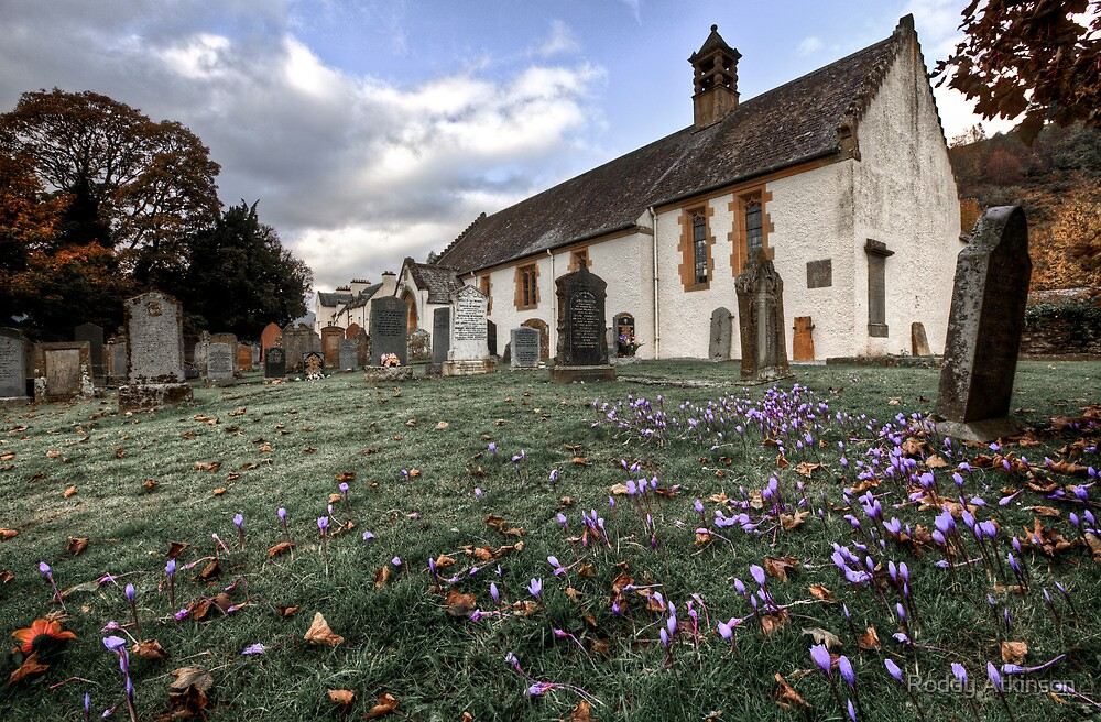 Fortingall Church by Roddy Atkinson