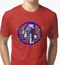 Anchorman - Channel 4 Tri-blend T-Shirt