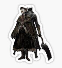 Bloodborne - Doll and Hunter Sticker