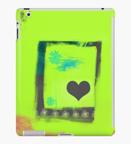 Summer love garden iPad Case/Skin