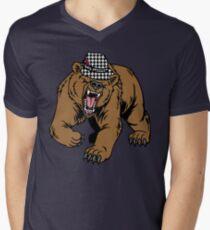 Alabama Bear Bryant Mens V-Neck T-Shirt