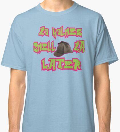 Sherlock Holmes the Fresh Prince of Bel-air Classic T-Shirt