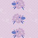Funny Purple Sheep by rusanovska