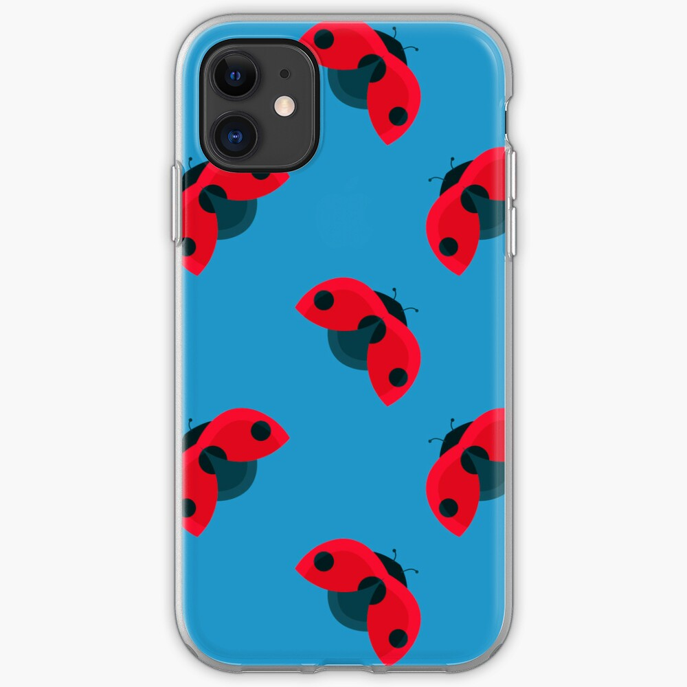 Lady Bug Pattern iPhone Case & Cover