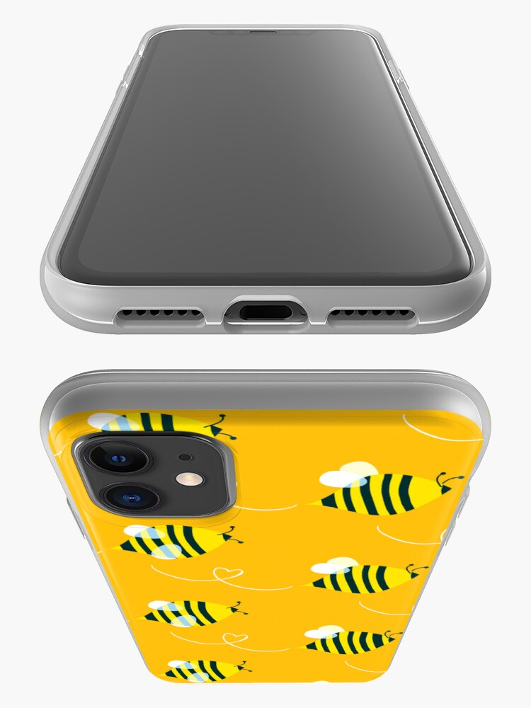 Alternate view of Bees iPhone Case & Cover