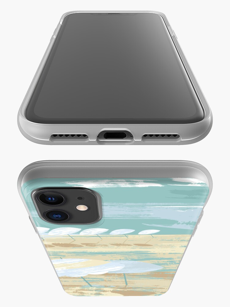 Alternate view of Morning Beach iPhone Case & Cover