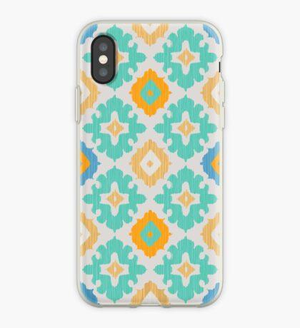 Diamond Ikat Pattern iPhone Case