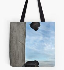 Rusted nut and bolt Tote Bag