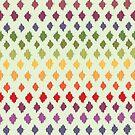Ikat Pattern by rusanovska