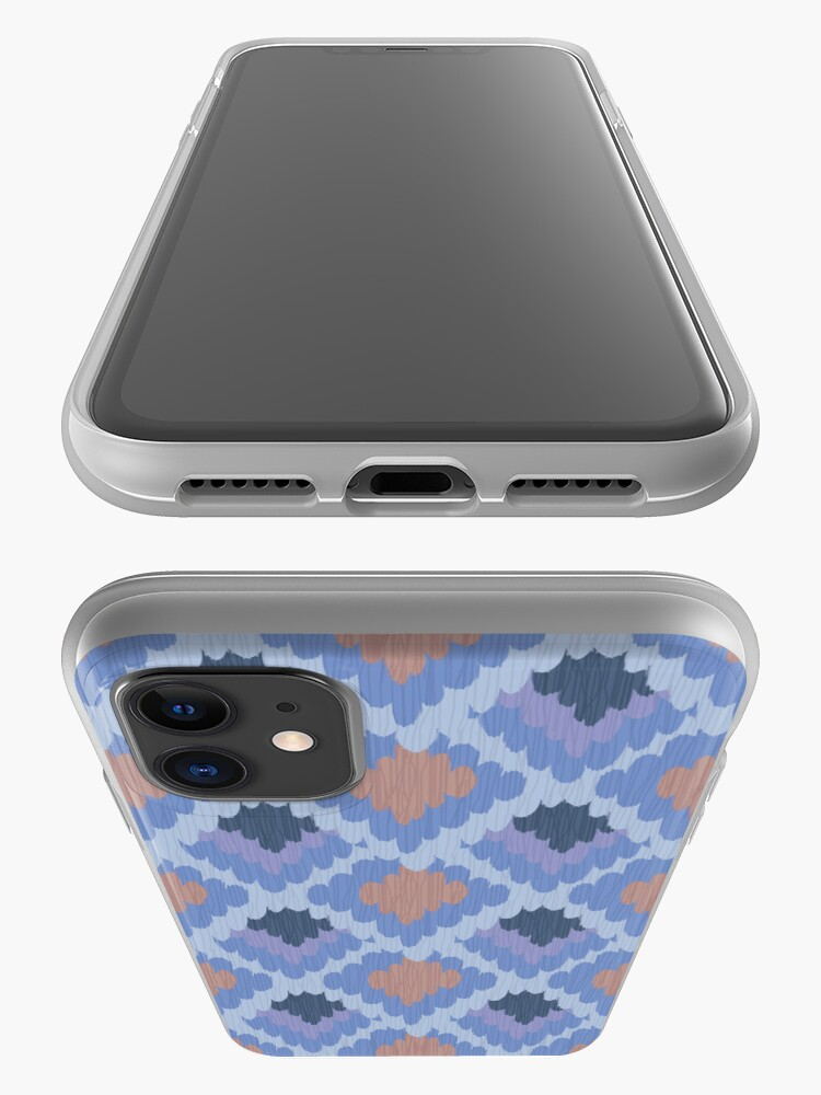 Alternate view of Elegant Ikat Pattern iPhone Case & Cover