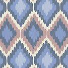 Elegant Ikat Pattern by rusanovska