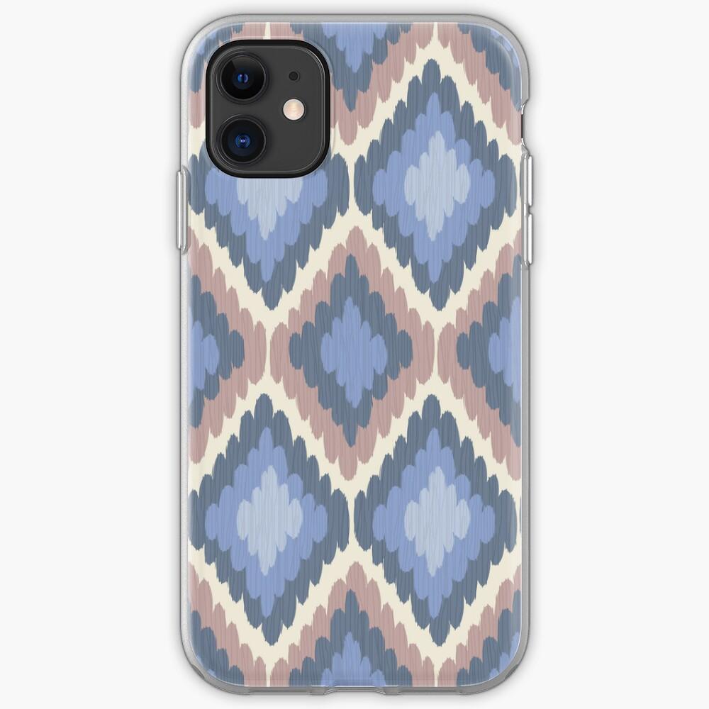 Elegant Ikat Pattern iPhone Case & Cover