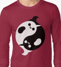 Yin Yang Narwhals T-Shirt