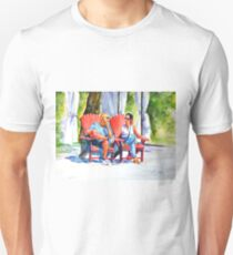 Relaxing afternoon Unisex T-Shirt