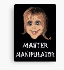MASTER MANIPULATOR Canvas Print