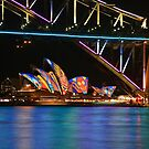 The Opera House @ Vivid Sydney by kcy011