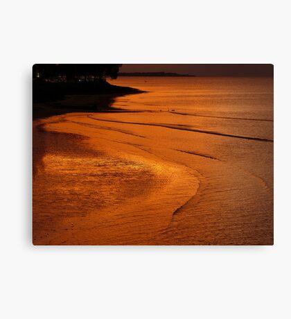 Hervey Bay Sunset Canvas Print