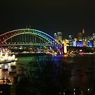Vivid Sydney - Rainbow Bridge  by kcy011