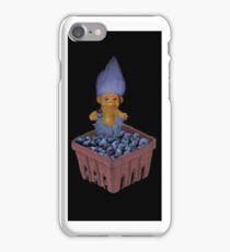 ❀◕‿◕❀TROLL LOVING BLUEBERRIES IPHONE CASE❀◕‿◕❀ iPhone Case/Skin