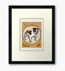 Bulldog Ragtime Vintage Sheet Music Framed Print