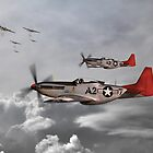 Tuskegee Airmen by Airpower Art